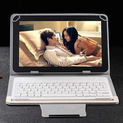 2-in-1 Bluetooth Keyboard Case for Tablet Ipad Samsung Tab Huawei Mediapad Android iOS Windows System 7 / 8 inch Tablet