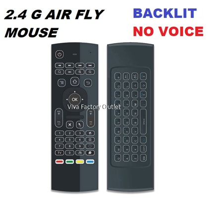 MX3 2.4G Air Fly Mouse Universal Smart Remote Control RF Wireless With Keypad For Android Box Smart TV Box PC